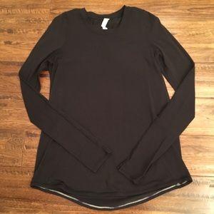 Lululemon Tuck & Flow Long Sleeve Pullover-Size 6